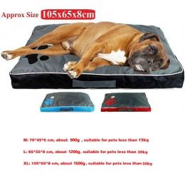 Poduszka dla psa dla dużych psów Oxford tkaniny dla psów szczenięta oddychający wodoodporny pies dom Pad gniazdo dla zwierząt do