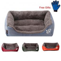 Łóżko dla psa łóżko dla psa miękki materiał gniazdo dla psa gniazdo dla psa jesień i zima ciepłe gniazdo dla kota Puppy z bezpła