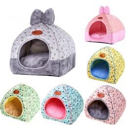 OLN 1 PC Pet Dog łóżko i Sofa ocieplenie pies dom miękkie gniazdo dla psa zima hodowla dla Puppy kot Plus rozmiar małych i średn