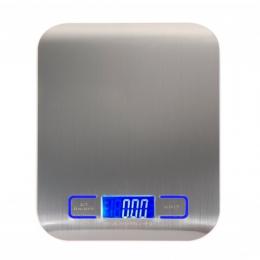 Cyfrowy wielofunkcyjny waga kuchenna do żywności, ze stali nierdzewnej, 11lb 5 kg platforma ze stali nierdzewnej z wyświetlaczem