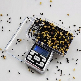 Ze stali nierdzewnej waga kuchenna 500g x 0.1g cyfrowa skala biżuteria złoty Herb równowagi waga Gram LCD cyfrowy waga żywności