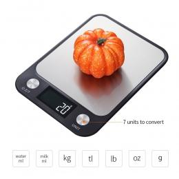 Cyfrowa waga kuchenna 5Kg/10Kg elektryczny ze stali nierdzewnej waga kuchenna wysoka dokładne oferty, do pieczenia żywności w sk