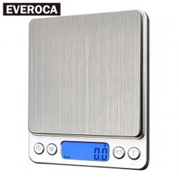 Cyfrowy waga kuchenna 1000g/0.1g przenośne wagi elektroniczne kieszonkowy LCD Precision biżuteria skala waga waga dania kuchni