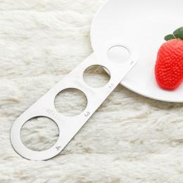 Łatwe usuwanie makaron władca narzędzie pomiarowe 4 porcji Spaghetti ze stali nierdzewnej noże kuchenne akcesoria do gotowania n