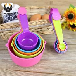 FGHGF 5 sztuk zestaw kolor miarą łyżki kuchenne pomiaru narzędzia łyżki do gotowania rozmiar S L. akcesoria kuchenne narzędzia