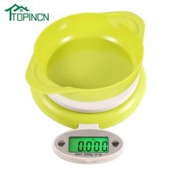 Elektroniczna waga kuchenna praktyczne z 1g-5 KG wyświetlacz LCD Waga cyfrowa waga waga narzędziowa waga kuchenna
