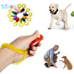 """Transfer Creative Hot przenośny pies, proszę kliknąć na przycisk """" Clicker dźwięk trener zwierzęta domowe są przyrząd szkoleniow"""