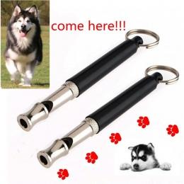 Ultradźwiękowy zwierzęta domowe są gwizdek szkolenia psów regulowany dźwięk cichy brelok do kluczy 9 cm moda styl szkolenia psów