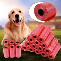 20 40 rolki/opakowanie 600 sztuk torba na odchody psa na śmieci worki na śmieci dla kota zwierząt domowych odpadów do napełniani