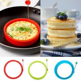 Nowość smażone jajka Pancake pierścień omlet smażone jajka okrągłe jajka Shaper formy do gotowania śniadanie patelnia piekarnik