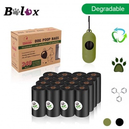 BOLUX, ulegające degradacji pies torebki na odchody zwierzęce przyjazne dla środowiska zwierzęta domowe są worki na śmieci dozow