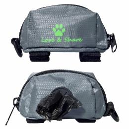 Przenośny na śmieci dla zwierząt domowych dla psów Poo ze względu na niepokój powodujący wątpliwości torby woreczek na zwierzęce