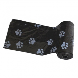 Gorąca panDaDa 2018 nowy 10 rolek = 150 sztuk degradowalne dla psów na śmieci torba z psem drukowanie Doggy Bag gówno torby