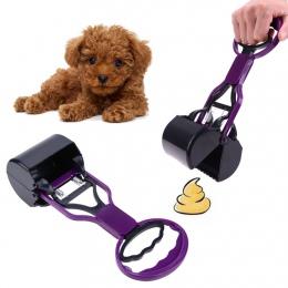 Zwierzęta pies kot szufelka do sprzątania psich odchodów 28 CM długie szczęki uchwytu kupa Scoop na świeżym powietrzu do czyszcz