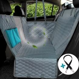 Pies pokrycie siedzenia samochodu widok siatki wodoodporna Pet Carrier z tyłu samochodu z powrotem podkładka na siodełko hamak p