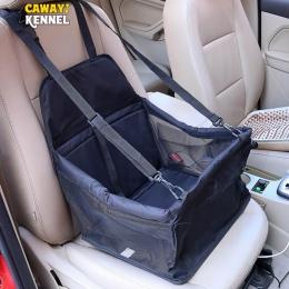 Hodowla CAWAYI podróży pies pokrycie siedzenia samochodu składany hamak Pet przewoźnicy torba transportowa na koty psy transport