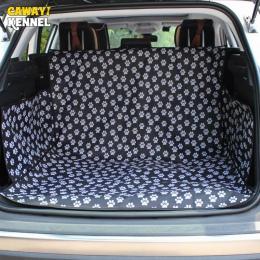 Hodowla CAWAYI Pet przewoźnicy pies pokrycie siedzenia samochodu mata do bagażnika pokrywa Protector do przenoszenia dla kotów p