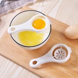Meijuner jajko biały Separator żółtka jaja separacji przetwarzania jaj niezbędny gadżet kuchenny przyrząd do rozdzielania jedzen