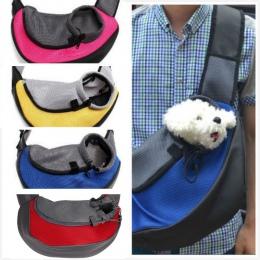 Dla zwierząt domowych kot Puppy małe zwierząt pies przewoźnik Sling przodu siatki torba podróżna torba na ramię plecak SL