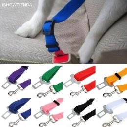 ISHOWTIENDA 2.4 cm nowy domu samochód Pet kot pies Cinturon De Seguridad Para bezpieczeństwa opieki zwierzęta pojazd pasów bezpi