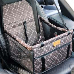 Podwójne grube akcesoria podróżne siatki wiszące torby składane Pet Supplies wodoodporna mata dla psa koc bezpieczeństwa na samo