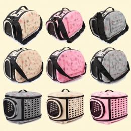 Zwierzęta domowe są Carrier dla psów kotów składana klatka składany Crate torebki plastikowe torby do przenoszenia zwierzęta dom