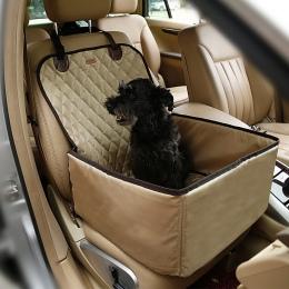 Zwierzęta samochodów fotelik przedni Seat pokrywa dla psów i kotów, przenośny 2 w 1 siedzenie dla psa ochrony antypoślizgowe wod