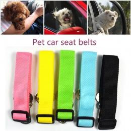 Nowy regulowany pies zwierzęta domowe są pasów bezpieczeństwa samochodu urządzenie przytrzymujące dla realizacji podróży smycz P