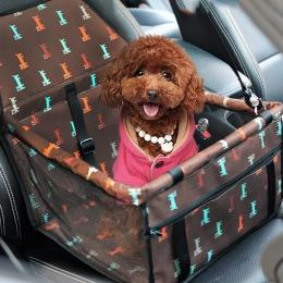 Dozzlor pies przewoźnik oddychająca pojazdu dla zwierząt domowych, z siatką zabezpieczającą składany Puppy Cat pakiet stabilny S