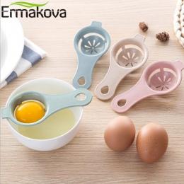 ERMAKOVA łodygi pszenicy jajka separator żółtka dzielnik jaj Extractor filtr siatkowy jaj narzędzie do pieczenia kuchenne gadżet