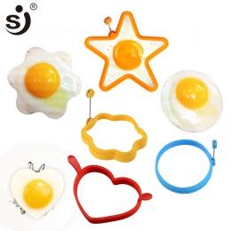 1 PC jajo silikonowe pierścień śniadanie jajo silikonowe formy naleśnik jajka na narzędzia do gotowania smażenia jajka na gadżet