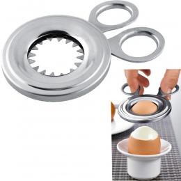 105mm krajalnica gotowane gotowane jajko Topper Snipper skorupka jajka otwieracz do muszli kuchnia gospodarstwa domowego narzędz