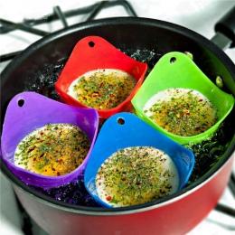 4 sztuk/partia jajo silikonowe kłusownik kłusownictwo strąki Pan mold kuchnia gotowanie narzędzie akcesoria Cocina gadżet Acceso