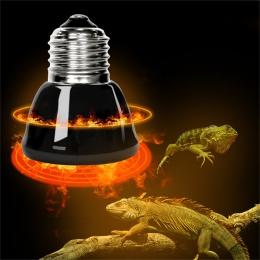 E27 zwierzęta domowe są lampa grzewcza czarny podczerwieni ceramiczne emiter ciepła żarówka zwierzęta nasiadka kurczaki lampa ga