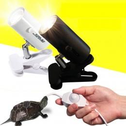 UVA + UVB 3.0 gadów zestaw lampowy z klipsem i staje w sytuacji sam na sam ceramiczne światła uchwyt na Turtle Basking UV lampa