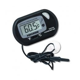 Najnowszy ekran cyfrowy LCD czujnik akwarium termometr do wody kontroler inteligentny temperatury Alarm ryb zwierzęta domowe są