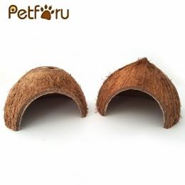 Petforu naturalne łupin orzecha kokosowego,, aby uniknąć jaskinie ucieczka dom gadów, aby uniknąć dom uciec z jaskini ukryj jask