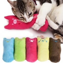 Śliczne poduszki zarysowania szalony kot obsługi Kicker zabawka z kocimiętką zęby szlifowanie zabawki