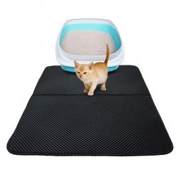 Zwierzęta domowe są mata pod kuwetę dla kota EVA dwuwarstwowy żwirek dla kota z wodoodporną dno antypoślizgowe dla zwierząt domo