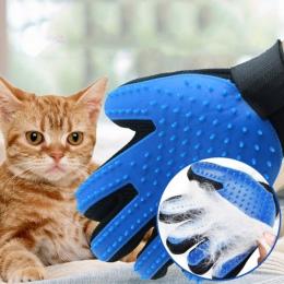 Silikon Pet Grooming Rękawic Dla Kotów Szczotka do włosów Grzebień Czyszczenia Deshedding Zwierzaki Produkty dla Kot Pies Usuwan