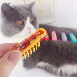 [MPK] zasilany energią słoneczną szybko poruszających się mikro robota błąd zabawki do zabawy zwierząt domowych, koty-Go-szalone