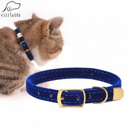 Obroża dla kota dla małych psów szczenięta uciekające kot szczenięta obroża dla zwierząt domowych regulowany produkt dla Kitten