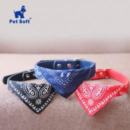 Zwierzęta domowe są miękkie kołnierz dla kota regulowany Pet Cat szalik obroże szalik naszyjnik trigon akcesoria dla zwierząt do