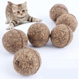 Dla zwierząt domowych naturalna kocimiętka piłka ze smakołykami Favor Home w pogoni za zabawki zdrowe bezpieczne jadalne leczeni