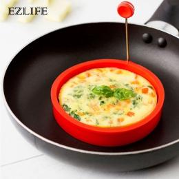 EZLIFE 4 style ekspres naleśnik smażone jajka formy silikonowe formy non-stick prosta obsługa Pancake Maker omlet okrągłe formy