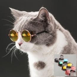 Dla zwierząt domowych kot okulary okulary dla psów produkty dla zwierząt domowych dla mały pies kot okulary okulary przeciwsłone