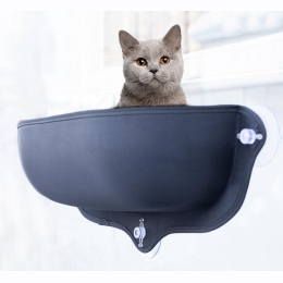 Kot hamak łóżko okno Pod leżanka przyssawki ciepłe łóżko dla Pet Cat Rest House miękkie i wygodne Ferret