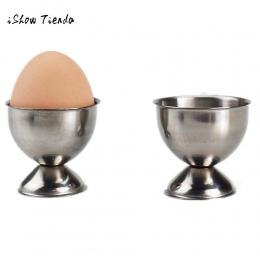 Miękkie jajko na twardo jajka z Holder blat Cup kuchnia poręczne narzędzie ze stali nierdzewnej kuchnia śniadanie ciężko gotowan