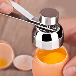 Ze stali nierdzewnej gotowane jajko Topper powłoki góry do kołatka? czna otwieracz do butelek surowe jajko Cracker Separator roz