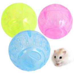 Z tworzywa sztucznego zwierzęta gryzonie Jogging Ball zabawki chomika szczur myszoskoczek piłki do ćwiczeń zabawki dla dzieci